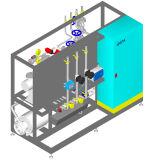 Système de pipe propre de pinte/système stérilisation de pipe