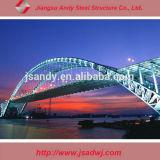 Caballete del acero del puente del marco de acero de la estructura del marco del espacio