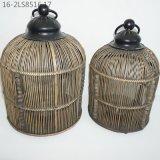 Tre colori delle lanterne di bambù caratteristiche