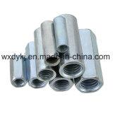 Noce di accoppiamento Hex placcata zinco del Rod del acciaio al carbonio di BACCANO 6334