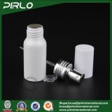 frasco de alumínio do pulverizador de perfume da cor branca de 30ml 1oz com o atomizador vazio do perfume do frasco cosmético de alumínio da embalagem do tonalizador do pulverizador