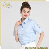 Usine chaude de vêtement de chemise de bureau de dessus de dames en vrac de vente