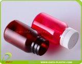 pharmazeutische Medizin-Plastikflasche des Haustier-100ml