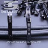 De plastiek Met een laag bedekte Banden van de Kabel van het Type van Ladder van het Metaal