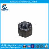 Noix noires lourdes de Nurs de tête galvanisée de l'hexagone GB55