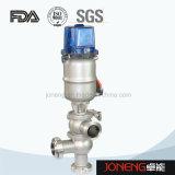 Stee inossidabile L sanitaria cambiamento pneumatico di flusso sopra la valvola (JN-FDV2009)