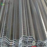 Strato d'acciaio composito galvanizzato di Decking del pavimento d'acciaio