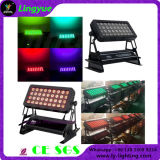 36X10W DMX Outdoor Light Stad Color LED Wall Washer