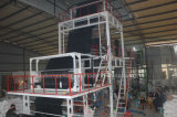la máquina que sopla de la película del PE de 2sj-G50 HDPE&LDPE con rotatorio muere la pista