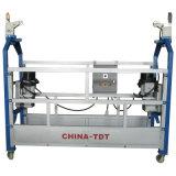 Le ce a reconnu la plate-forme 630kg suspendue par aluminium (ZLP630)