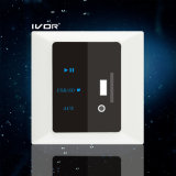 Materia plastica dell'interruttore del decodificatore MP3 (SK-AP2301)