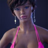Sex Doll for Men Black Beauty 140 148 153 158 163 165cm Africano Pele Negra Legginess Sex Doll Silicone Sex Doll Mannequins Full Love Doll