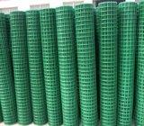 Rete metallica saldata rivestita di plastica di pollice di 1/2