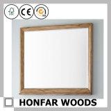 Het natuurlijke Stevige Houten Frame van de Spiegel voor de Decoratie van het Huis