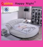 Modernes und elegantes rundes Bett-runder Bett-Spant 6820