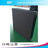 la visualización de LED de alquiler del pixel de 5m m a presión contraste de interior de aluminio de la fundición el alto con ángulo de visión grande