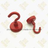 Forte magnete d'acciaio A3 con l'amo (colore rosso o personalizzato)