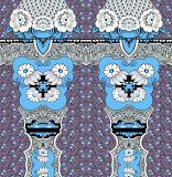 Tela 100% do poliéster da tela da impressão de matéria têxtil de Digitas (PF-037)