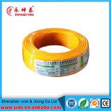 Alambre aislado PVC flexible de cobre de la energía eléctrica/eléctrica