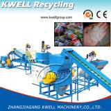 Riciclaggio della lavatrice di plastica della bottiglia dell'animale domestico di Machine/300-2000kg/Hr