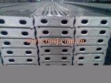 Roulis de poinçon de tube debout de planche d'échafaudage de construction de construction formant la ligne machine