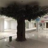 훈장 인공적인 큰 반얀 나무