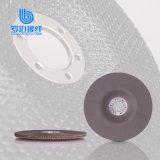 Garnitures plates de support en verre de fibre pour le disque abrasif d'aileron