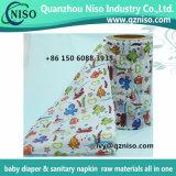 Cinta frontal para el fabricante de los pañales del bebé, cinta frontal del precio de fábrica