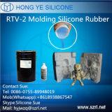 Silicón líquido RTV-2 Rubebr del molde manual
