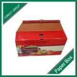 Schwere tragende doppel-wandige Wellpappe, die Apple-Karton-Kasten verpackt
