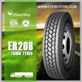 neumáticos resistentes del acoplado del distribuidor de China del neumático del carro del neumático del carro ligero 11r24.5