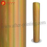 Lámina para gofrar caliente del oro oscuro para el papel