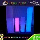 Колонка СИД квадратная с цветами RGB 16 для украшения венчания