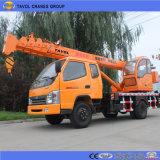 Petite grue camion pour la construction au Bangladesh