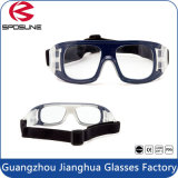 Quadro rígido Soft Nose Pad Basketball Sport Goggles Embalagem com acessórios
