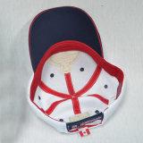 Casquillo de la colada de la gorra de béisbol del algodón de los paneles de Blue&White 6