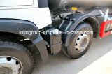 Carro de aluminio del buque de petróleo del carro de combustible de HOWO T5g 8X4 18000L