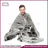 医学の救急処置の緊急のレスキュー金および銀製毛布