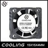 ventilador de refrigeração da C.C. de 15X15X04mm 3.7V /5V