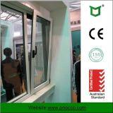 Fatto alla girata di alluminio Windows di inclinazione di vetratura doppia di profilo di Schang-Hai