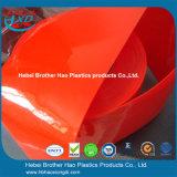 Het concurrerende Gordijn van de Strook van de Deur van pvc van de Voorraad van de Prijs Bulk Rode Ondoorzichtige Plastic