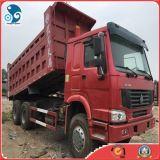 사용된 Sinotruk HOWO 정면 드는 작풍 덤프 트럭 일반 화물 트럭