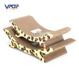 Venta al por mayor de cama de mascotas reciclar papel Cat Scratcher Lounge para dormir