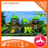 Constructeur extérieur de cour de jeu de modèle de château d'enfants de parc d'attractions