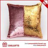 Coperchio magico del cuscino della sirena dei Sequins, cuscino cambiante di colore rovesciabile del Sequin