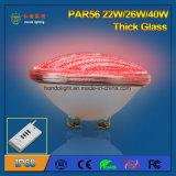 IP68 luz grossa da associação do diodo emissor de luz do vidro 40W RGB PAR56