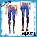 L'OEM progetta le vostre proprie calzamaglia di compressione di ginnastica per le donne (YG005)