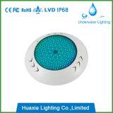 LED de la resina llenada la piscina subacuática de la lámpara
