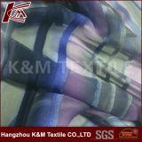 il tessuto di seta di 35%Silk 65%Rayon Royon brucia dipinto a mano