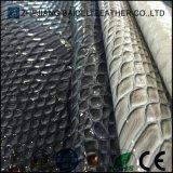 뱀 패턴 단화 부대 또는 소파와 가구 실내 장식품을%s 인공적인 PVC 가죽 PU 가죽